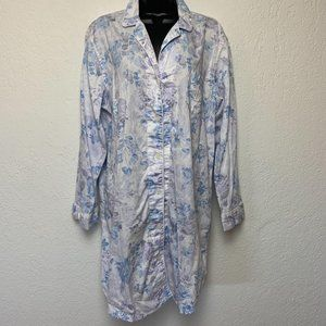 Ralph Lauren Pajama Nightgown XL Sleepwear Cotton